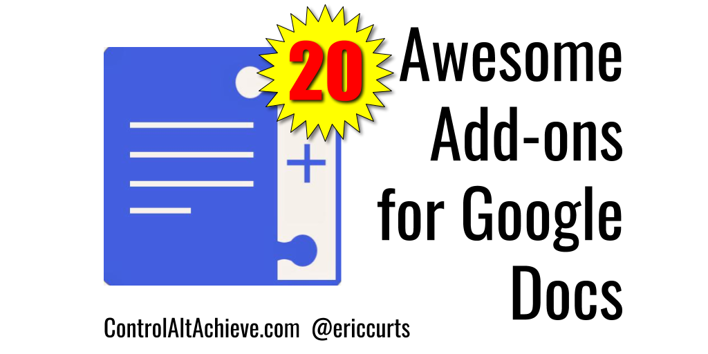 20 Awesome Add-ons for Google Docs