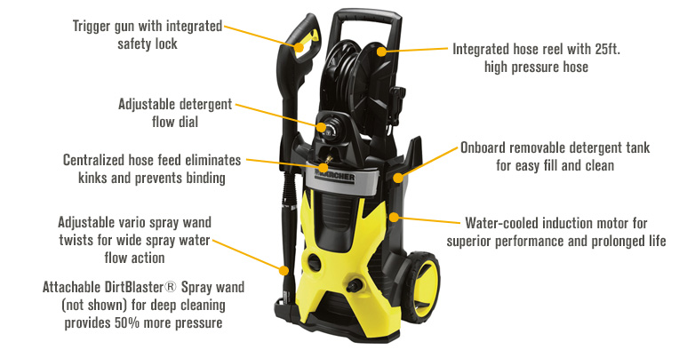 Karcher X-Series Electric Cold Water Pressure Washer - 2000 PSI, 1.4 GPM Picture