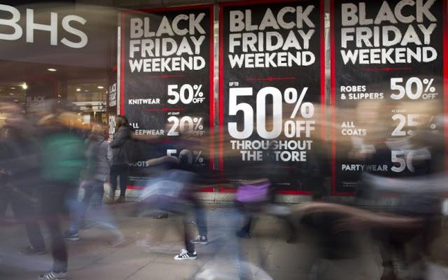 Novembro e Black Friday em Nova York