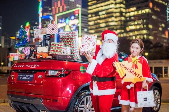UberSANTA 聖誕老人即叫即送千多份禮物 活動收費將全數撥捐長者安居協會