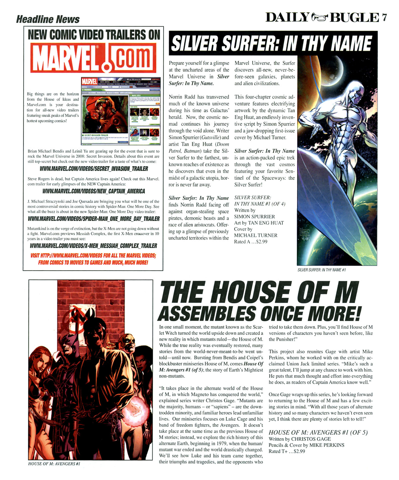Read online Daily Bugle (2006) comic -  Issue #14 - 7