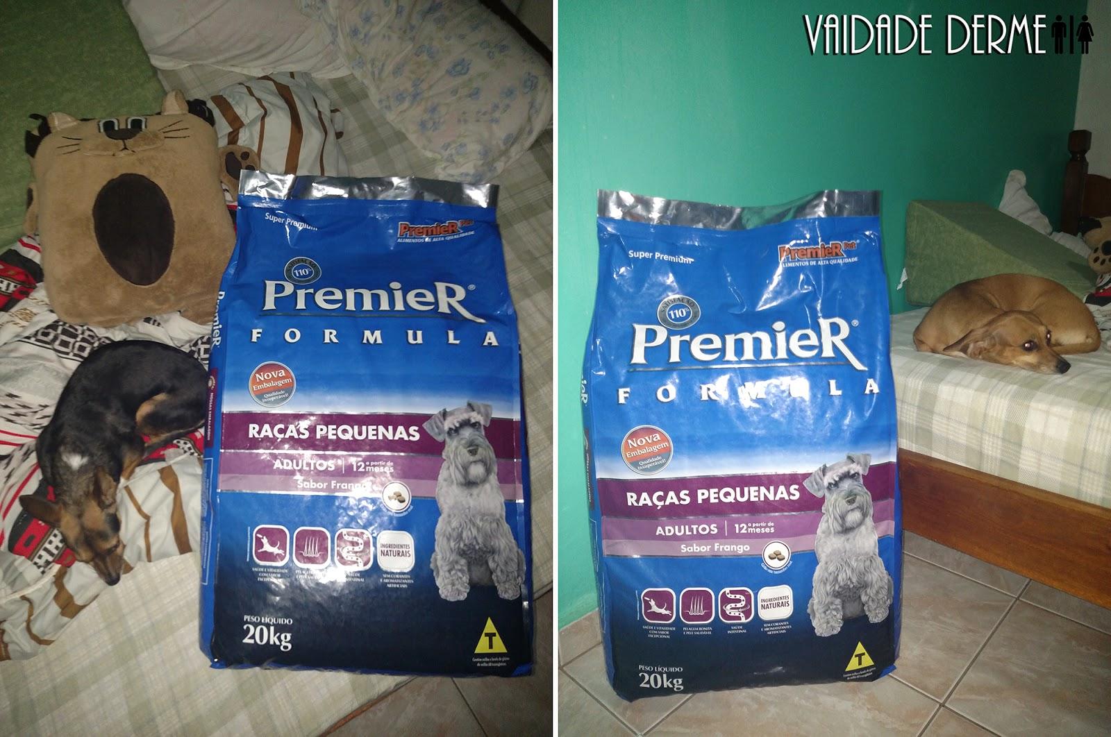 Ração Super Premium, Premium e Standard