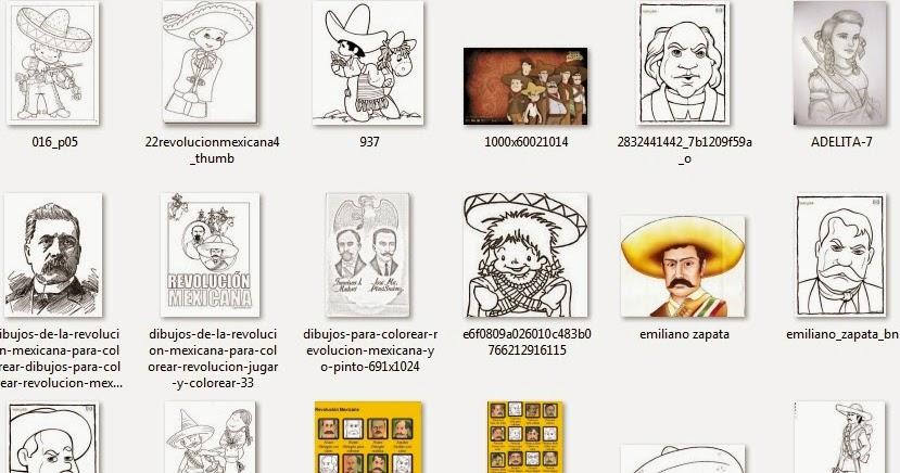Dibujos Para Colorear 20 Noviembre Preescolar: Imágenes Para El 20 De Noviembre (Revolución Mexicana