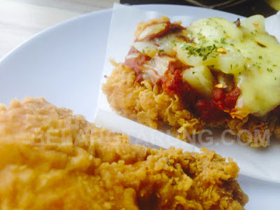 Crust Topping Ayam Chizza