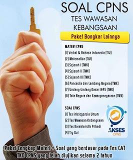 Soal Tes Wawasan Kebangsaan (TWK), library pendidikan