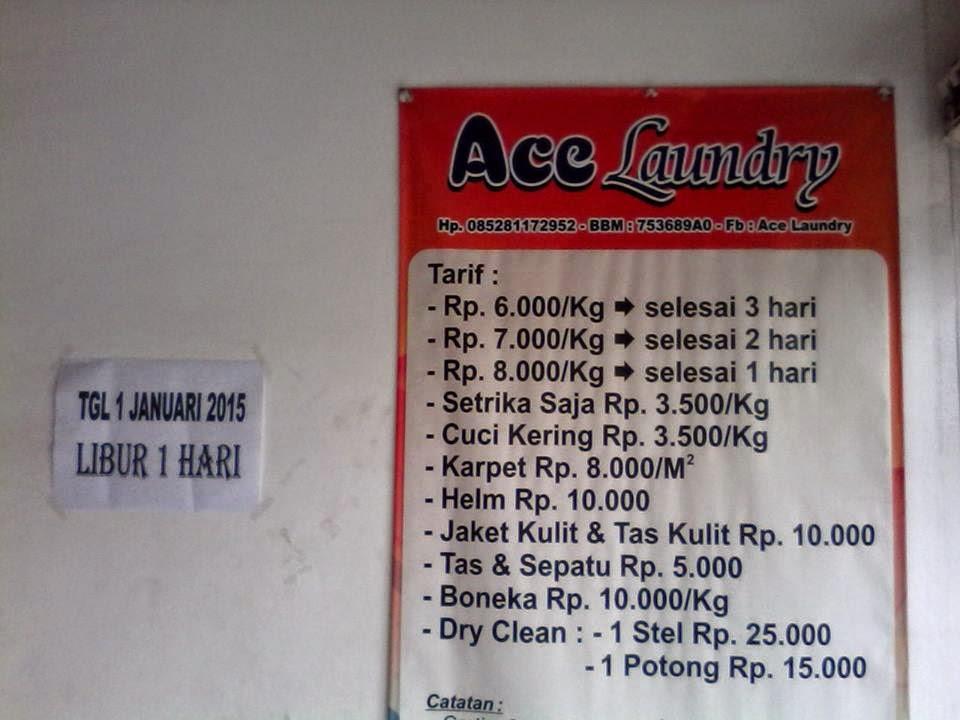 Contoh Brosur Dan Spanduk Promosi Laundry Mungkin Jadi