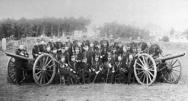 école d'application de l'artillerie, forêt de Fontainebleau