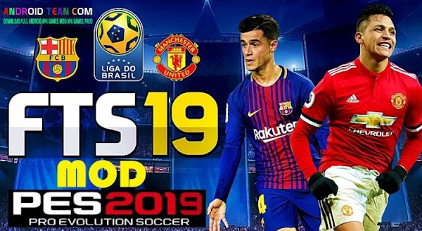 FTS MOD PES 2019 New Update Transfer Liga Indonesia & All Eropa Winter | Best Graphics HD