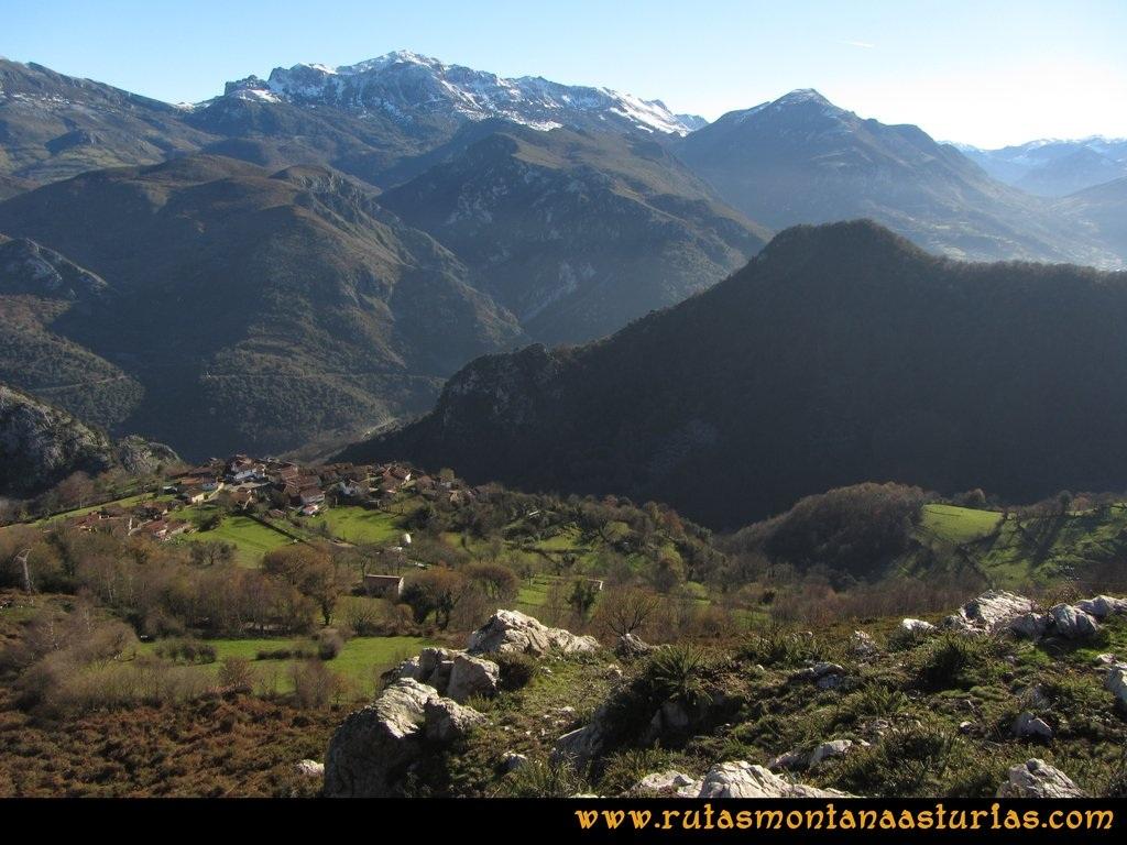 Area Buyera, picos Grandamiana y Plantón: Bajando del Plantón a Castañedo del Monte.