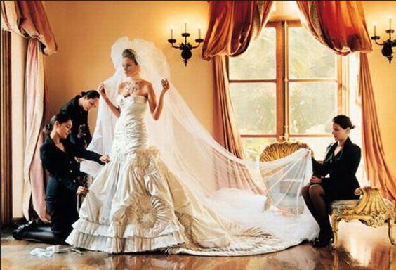 15 Amazing Celebrity Wedding Dress