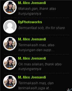 recent koment, komentar, widget komentar, avatar