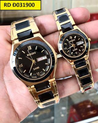 Đồng hồ cặp đôi đẹp nhất RD Đ031900