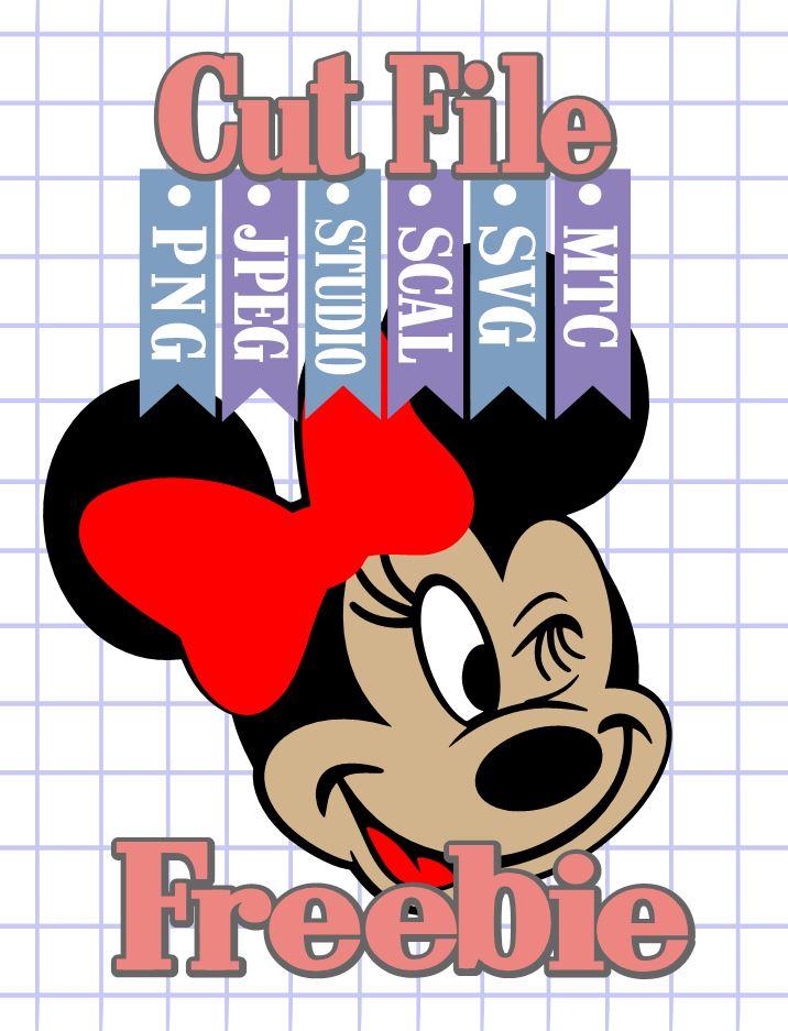 Download The Scrapoholic : Free MTC & SVG Cut Files! DiSNEY Minnie #04
