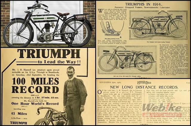 Lịch sử Triumph Motor - Kẻ dẫn đường cho phong cách cổ điển
