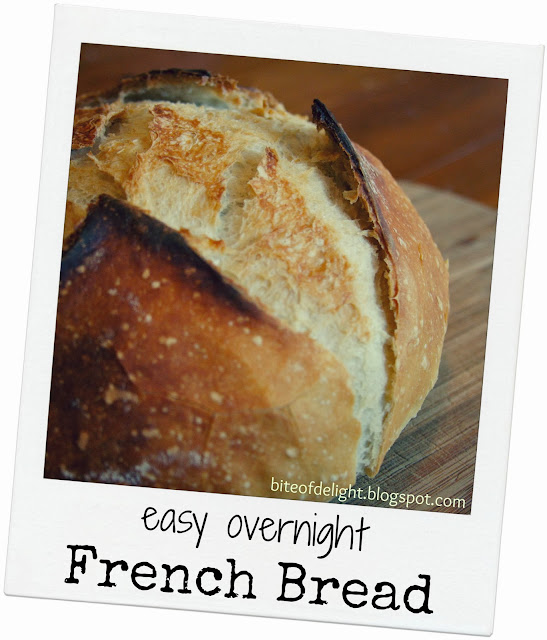 Easy Overnight French Bread