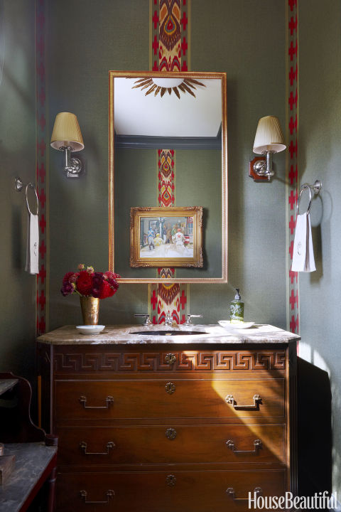 What I Love Wednesday 20 Perfect Powder Rooms South