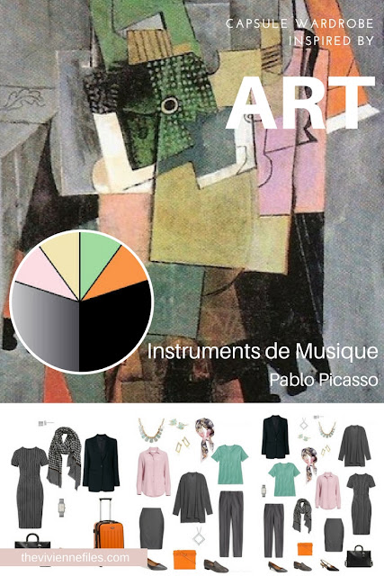 Instruments de Musique by Picasso, Revisiting for Spring 2018