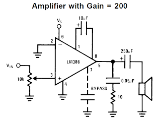 LM386 Amplifier Circuit Explained ~ Electronic Circuit