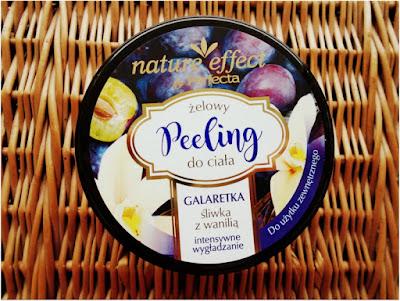 Żelowy peeling do ciała nature effect by Perfecta - świetny kosmetyk za niewygórowaną cenę.