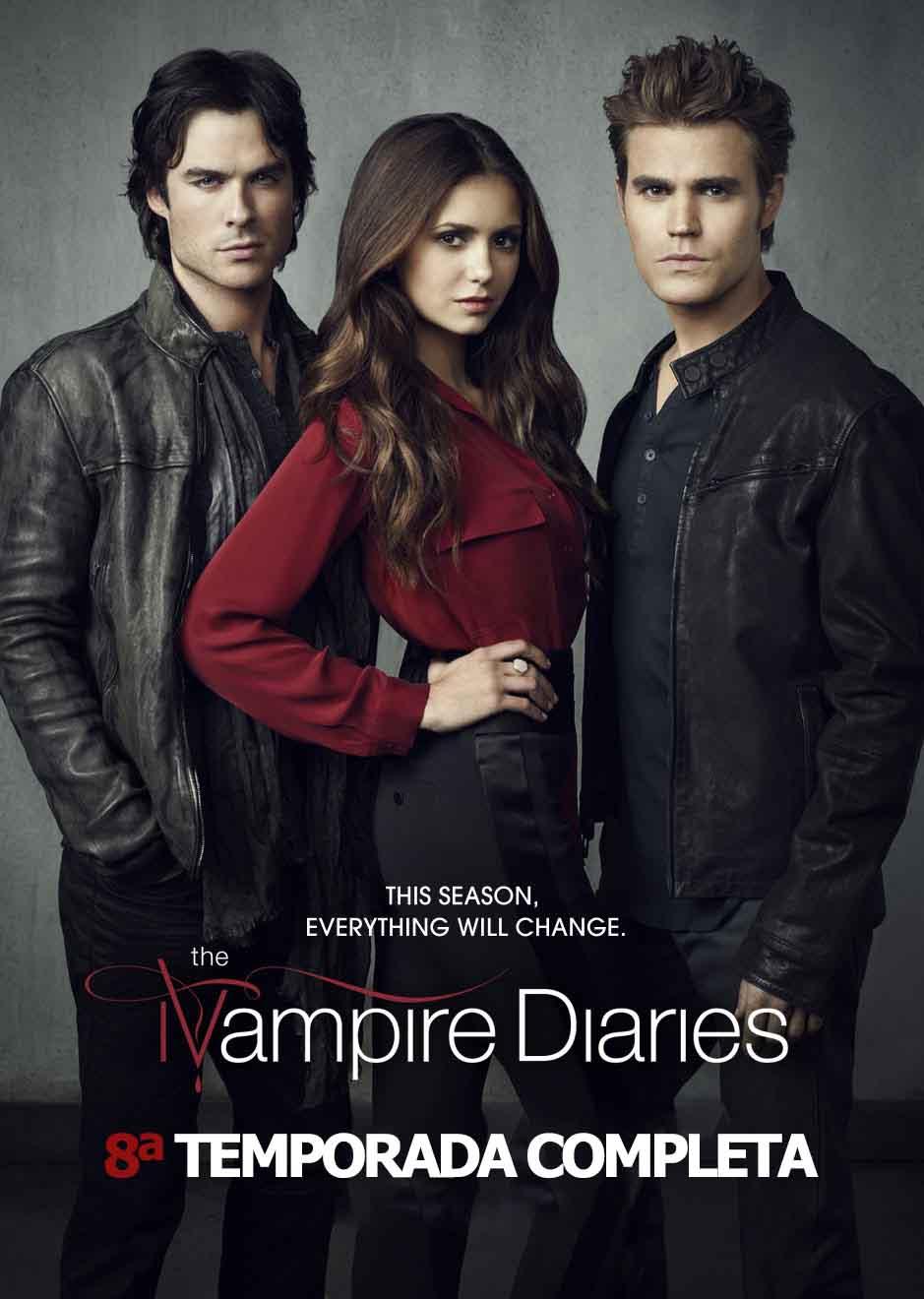 The Vampire Diaries 8ª Temporada Torrent – WEB-DL 720p/1080p Dual Áudio (2016)