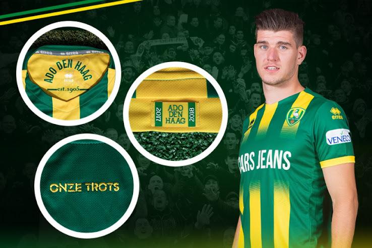 Ado Den Haag 17 18 Home Away Third Kits Released Footy Headlines
