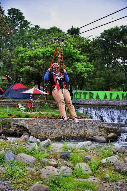 Flying Fox di Citra Alam Riverside