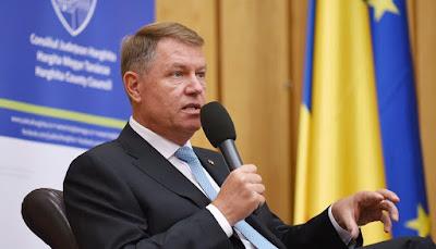 Klaus Iohannis, Csíkszereda, Székelyföld, autonómia, közigazgatás, decentralizáció, régiósítás