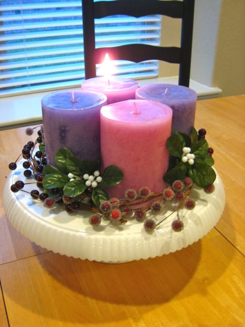 spirals spatulas diy advent wreath. Black Bedroom Furniture Sets. Home Design Ideas