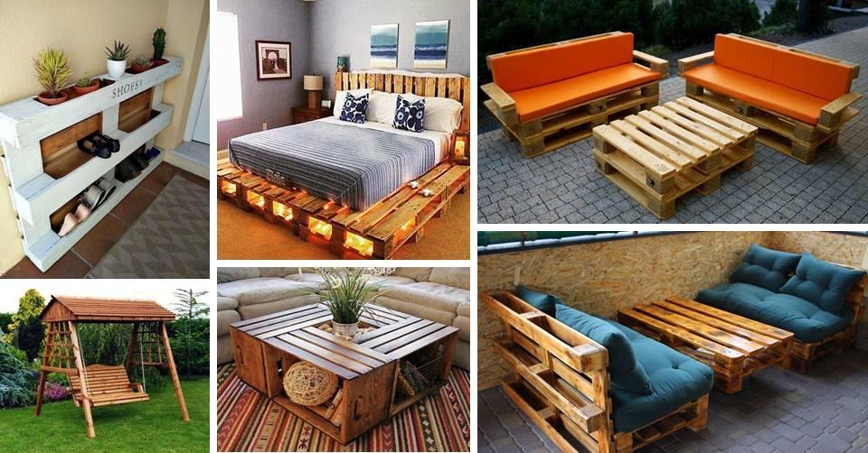 35 Genius DIY Easy Wood Pallet Furniture Designs Ideas ... on Pallet Design Ideas  id=16790