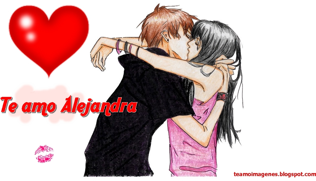 te amo alejandra, teamoimagenes.com