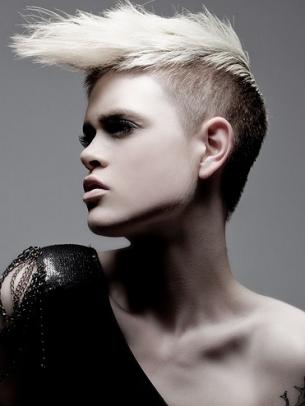Fabulous Women39S Short Mohawk Hair Styles World Of Fashion Short Hairstyles Gunalazisus