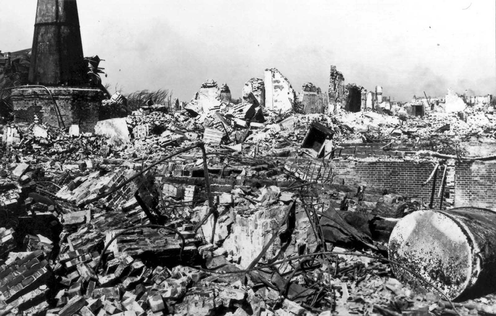 okyo and Yokohama, Japan, Earthquake September 1, 1923.