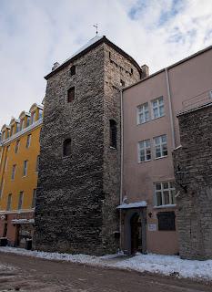 Башни старого Таллинна - башня Ассауэ