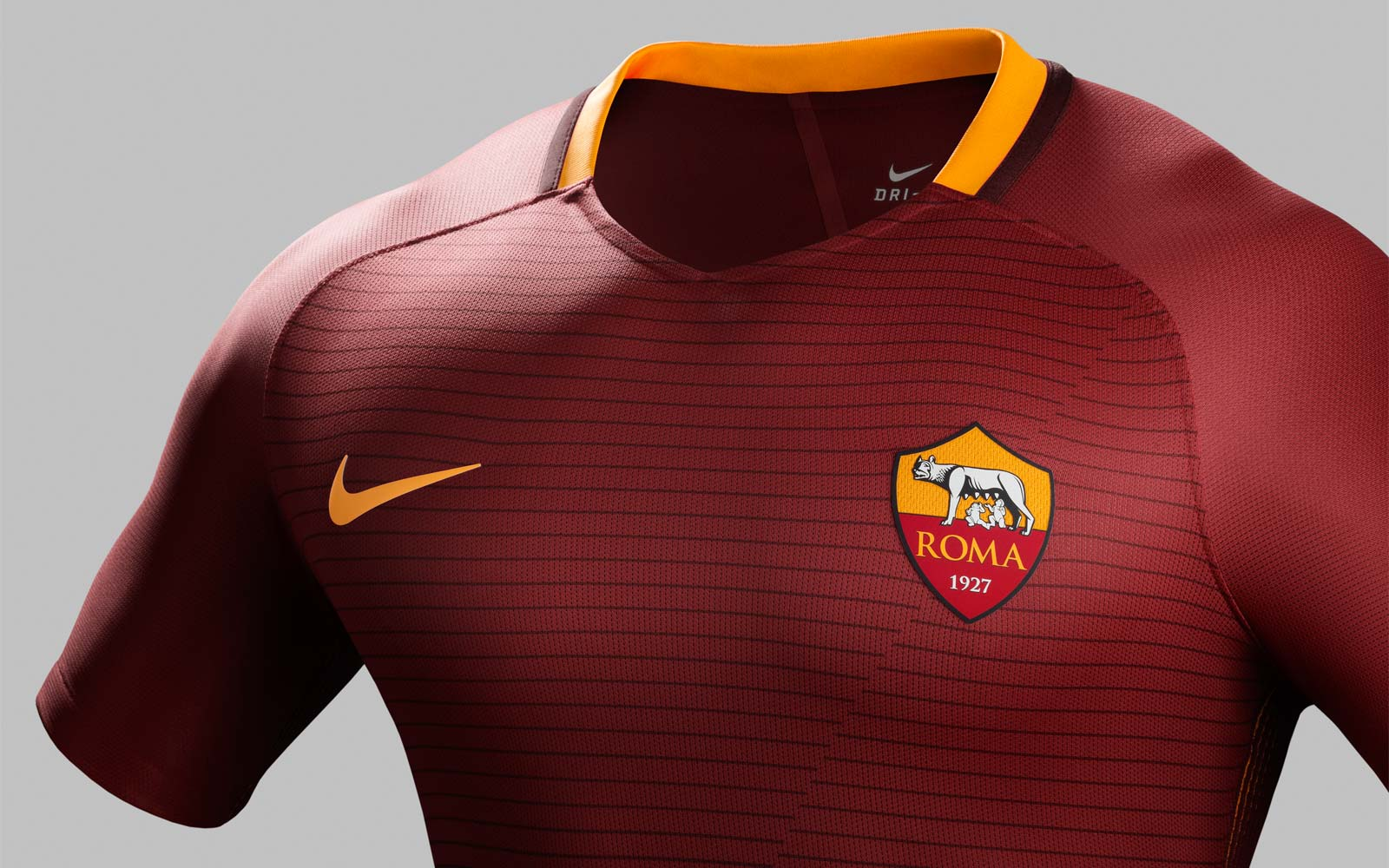as roma 1617 home kit released footy headlines