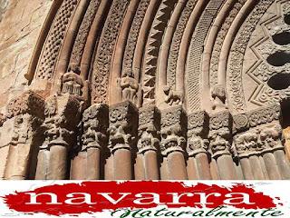 197 Cirauqui Iglesia San Román La Portada Las Arquivoltas  www.casaruralurbasa.com