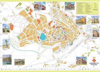 Mapa de Puigcerdà