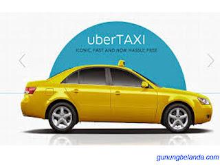 Uber Taxi - Penyedia Jaza Keliling Kota