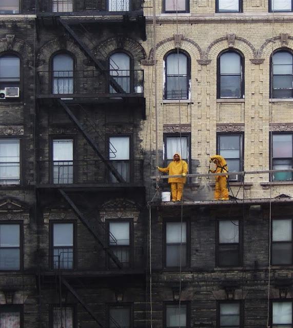 Esses apartamentos tava uma vergonha de sujeira