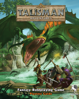 CROSS PLANES: Review: Talisman Adventures Fantasy RPG