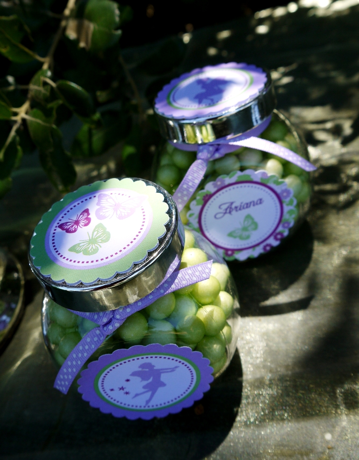An Enchanting Lilac & Green Pixie Fairy Party - BirdsParty.com