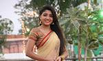 Aditi Menon dazzling in half saree