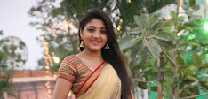 Aditi Menon dazzling in half saree-thumbnail