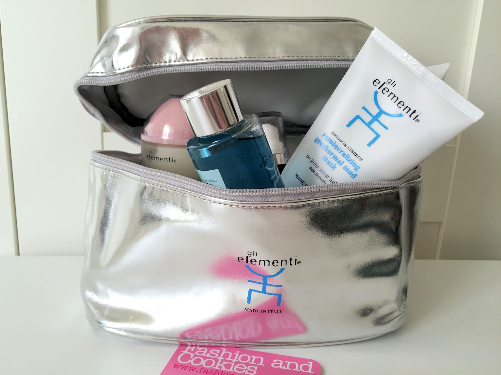 Home SPA secrets: Gli Elementi skincare geothermal cosmetic products on Fashion and Cookies beauty blog, beauty blogger