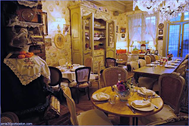 Comedor del Restaurante Ruso Mari Vanna en Nueva York