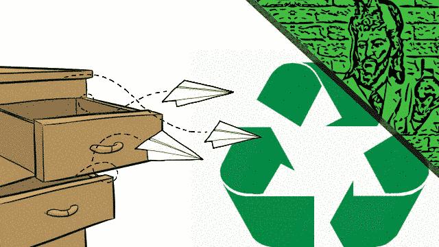 queimando neuronios reciclagem meio ambiente  - Queimando Neurônios