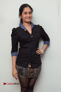 Telugu Actress Priyanka Pallavi Stills in Micro Mini Skirt at Nenosthaa Movie Song Launch at Radio City  0028.JPG