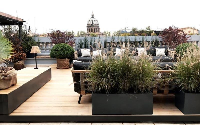 Una terrazza romana | Blog di arredamento e interni - Dettagli Home ...