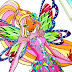 Discover to Draw: Flora Tynix from Winx Club!