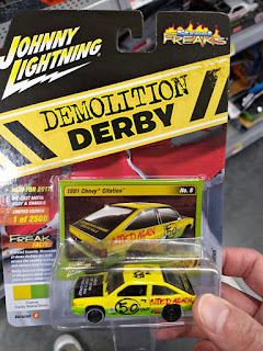 johnny lightning demolition derby 1981 chevy citation