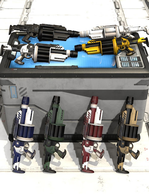 Mestophales Sci Fi Weapons 2